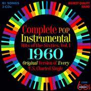 Complete Pop Instrumental Hits Of The Sixties, Vol. 1 1960 , Various Artists