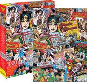 DC Comics- Vintage Wonder Woman Comic Book Image Collage 1000 pcJigsaw