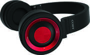 COBY CHBT-617-RD Red Premium Wireless Bluetooth Headset
