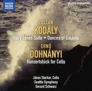 Harry Janos Suite /  Konzertstuck for Cello & Orch , Gerard Schwarz