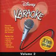 Disney Karaoke, Vol. 2 , Various Artists