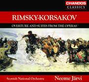 Overture & Suites from the Operas , Neeme Järvi