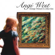 Orange Thread in a Blue Sea