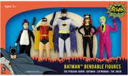 Batman 1966 Bendable Figure Boxed Set