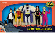 Batman 1966 Bendable Figure Boxed Set