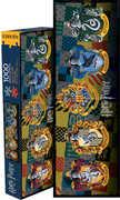 Harry Potter Crests 1000 PC Slim Jigsaw Puzzle