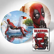 Deadpoool 2 DVD LP Bundle , Ryan Reynolds