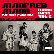 Radio Days Vol. 2: Live At The Bbc 1966-69 , Manfred Mann