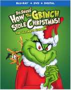 Dr. Seuss' How the Grinch Stole Christmas (Ultimate Edition) , Boris Karloff