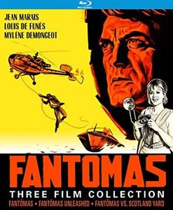 Fantômas Three Film Collection , Jean Marais