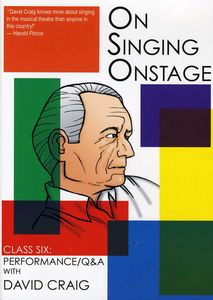 On Singing on Stage: 6