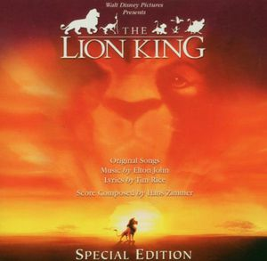 The Lion King (Original Soundtrack) [Import]