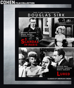 Two Films From Director Douglas Sirk: A Scandal in Paris /  Lured