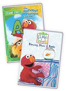 Sesame Street: Elmo's World - Dancing, Music And Books/ The AlphabetJungle Game