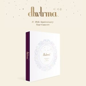 IU 10TH ANNIVERSARY TOUR CONCERT DLWLRMA (160-page photobook, DVD,Blu-Ray + Selfie-Photocard) [Import]