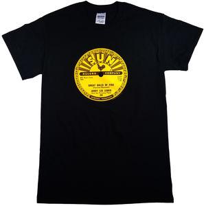 Jerry Lee Lewis Great Balls Of Fire Black Unisex Adult Short SleeveTee Shirt (2XL)