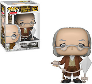 FUNKO POP! ICONS: History - Benjamin Franklin
