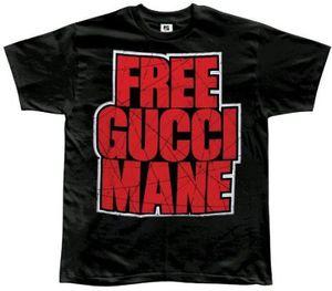 Free Gucci Black T-Shirt Black - XXL