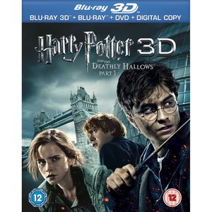 Harry Potter & the Deathly Hallows PT. 1 3D [Import]