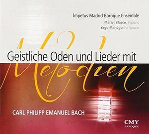 Geistliche Oden Und Lieder Mit Melodien