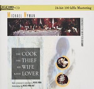 The Cook, The Thief, His Wife and Her Lover (Original Soundtrack) [Import]