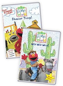 Sesame Street: Elmo's World - Elmo's Favorite Things/ Elmo's World:Wild, Wild West