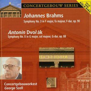 Brahms: Sym No 3 /  Dvorak: Sym No 8