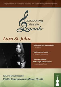 Learning From the Legends: Mendelssohn Violin Con