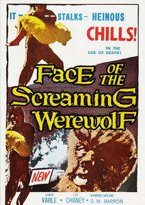 Face of the Screaming Werewolf