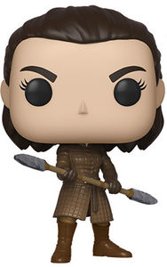 FUNKO POP! TELEVISION: Game of Thrones - Arya w/  Two Headed Spear