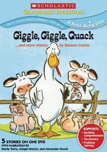 Giggle, Giggle, Quack...And More Stories by Doreen Cronin