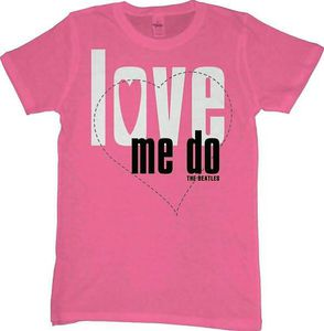 Beatles Love Me Do Pink JR - L
