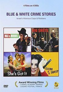 Blue & White Crime Stories