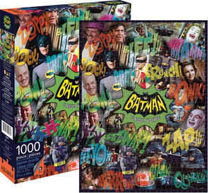 Batman Classic TV Series Image Collage 1000 pc Jigsaw Puzzle