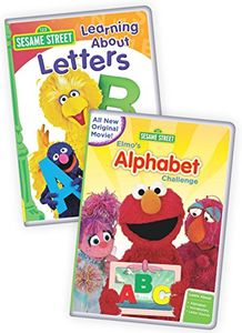 Sesame Street: Elmo's Alphabet Challenge/ Learning About Letters
