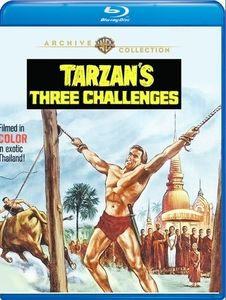 Tarzan's Three Challenges , Jock Mahoney
