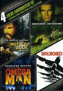 4 Film Favorites: Charlton Heston Collection