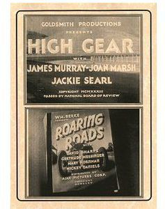 High Gear (1933) /  Roaring Road