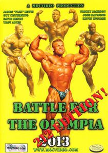 Battle for the Olympia 2013: 212 Pound Class Ed