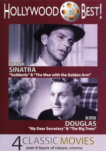 Hollywood Best! Frank Sinatra and Kirk Douglas - 4 Classic MoviesIncludes: Suddenly, The Man With the Golden Arm, My Dear SecretaryAnd the Big Trees