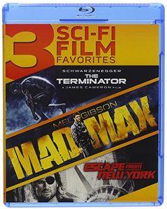 3 Sci-Fi Film Favorites: The Terminator /  Mad Max /  Escape From New York