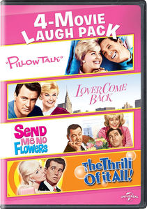 4-Movie Laugh Pack: Pillow Talk /  Lover Come Back /  Send Me No Flowers /  The Thrill of It All!