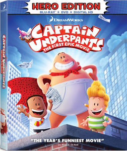 Captain Underpants The First Epic Movie Hero Edition On Tcm Shop
