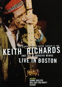 Keith Richards Live in Boston [Import]