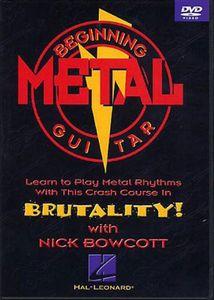 Beginning Metal Guitar