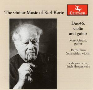 Guitar Music of Karl Korte