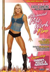 Striptease Series: Advanced Pole Dancing & Fire