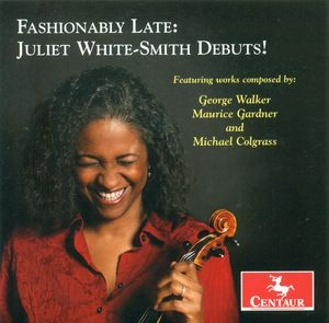 Fashionably Late: Juliet White-Smith Debuts
