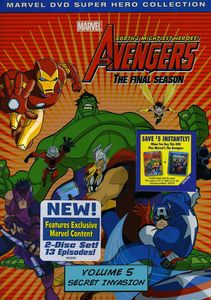 The Avengers: Earth's Mightiest Heroes!: The Final Season Volume 5: Secret Invasion