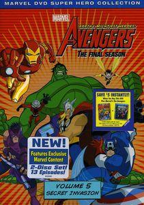 The Avengers: Earth's Mightiest Heroes!: The Final Season Volume 5: Secret Invasion